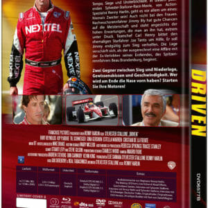 DRIVEN (Blu-Ray+DVD) - Cover B - Mediabook Rückseite