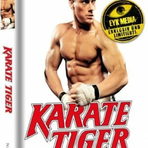 Karate Tiger - 2-Disc Mediabook (wattiert) (EYK Media Cover E)