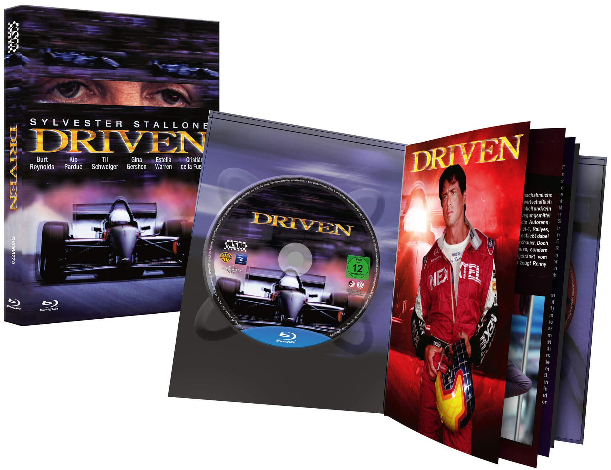 NSM Driven Mediabook Cover A Blu-ray DVD Edition