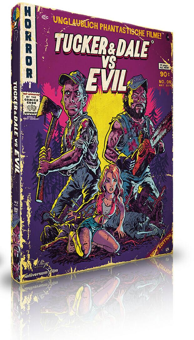 Tucker & Dale vs. Evil Mediabook [LE333] - Unglaublich Phantastische Filme-Collection #05