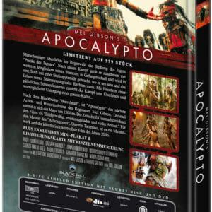APOCALYPTO (Blu-Ray+DVD) (2Discs) - Cover A - Mediabook Rückseite