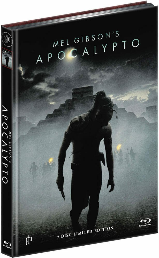 APOCALYPTO (Blu-Ray+DVD) (2Discs) - Cover A - Mediabook Vorderseite