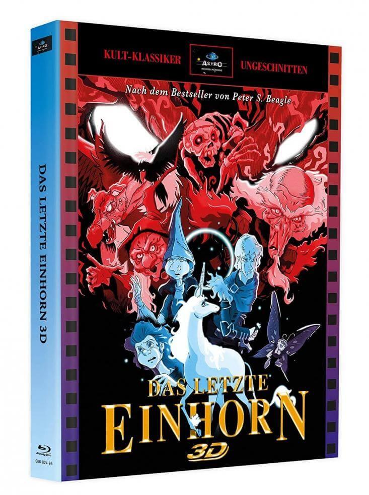 Das letzte Einhorn - 2-Disc Mediabook Astro Cover