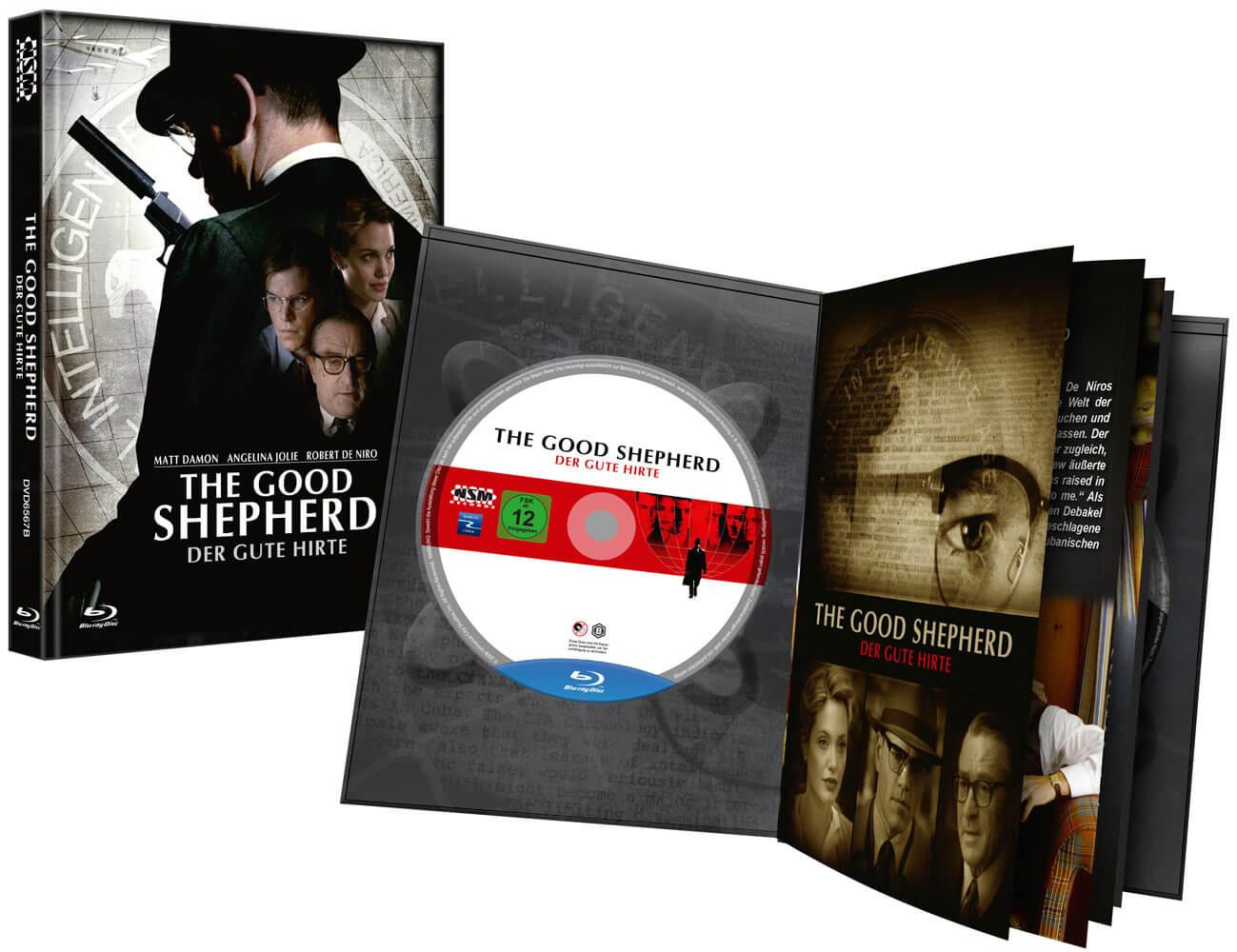 GOOD SHEPHERD THE - DER GUTE HIRTE (Blu-Ray+DVD) - Cover B - Mediabook Edition