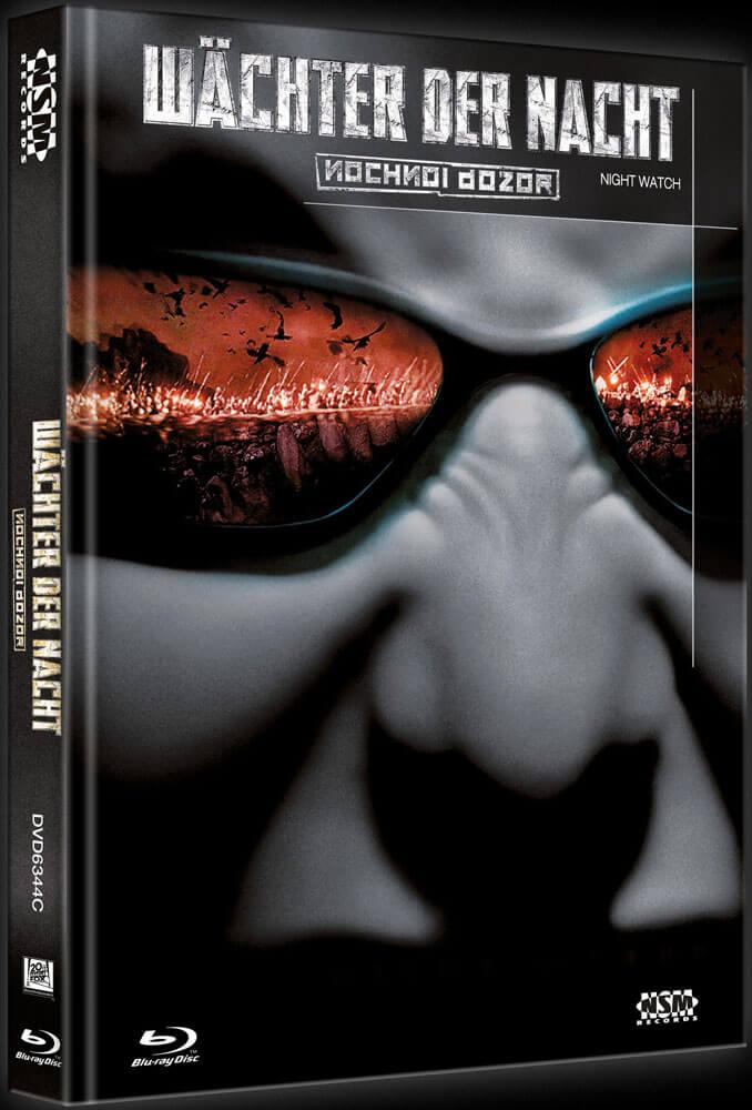 WÄCHTER DER NACHT (Blu-Ray+DVD) (2Discs) - Cover C - Mediabook Vorderseite