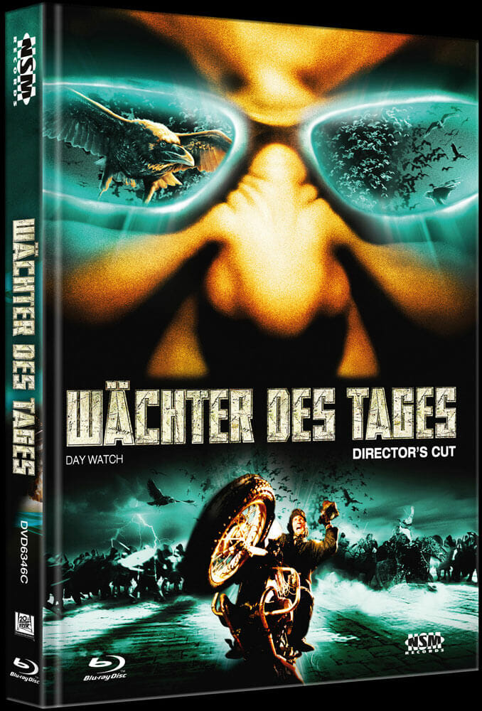 WÄCHTER DES TAGES (Blu-Ray+DVD) (2Discs) - Cover C - Mediabook Vorderseite